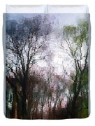 Wavy Willows Duvet Cover