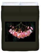 Wax Begonia Duvet Cover