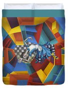 Way Down In The Hole Duvet Cover by Kelly Jade King