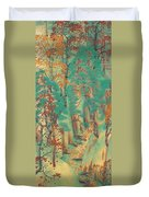Way To Atago Duvet Cover