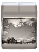 Way Up In The Clouds Duvet Cover