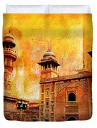 Wazir Khan Mosque Duvet Cover