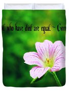We Are Equal Duvet Cover