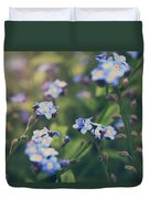 We Lay With The Flowers Duvet Cover