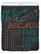 We Love.... Duvet Cover