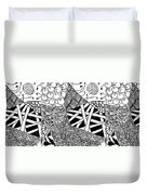 We Sailed The Seas Together Duvet Cover