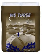 We Three Duvet Cover