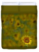 We Worship The Sun Duvet Cover
