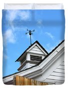 Weather Vane Apple Valley Duvet Cover