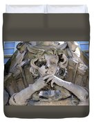 Weathered And Wise Duvet Cover