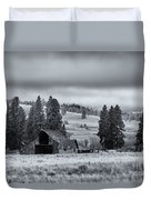 Weathered Beneath The Storm Duvet Cover by Mike  Dawson