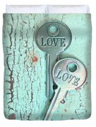 Weathered Love Duvet Cover