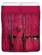 Weathered Red Duvet Cover