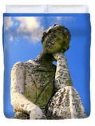 Weathered Woman Duvet Cover