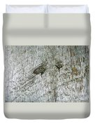Weathered Wood Duvet Cover