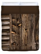 Weathered Wooden Abstracts - 3 Duvet Cover