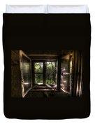 Web Window Duvet Cover