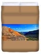 Webster Pass Colorado Duvet Cover