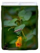 Webworm Duvet Cover