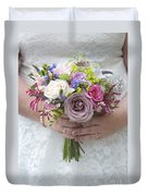 Wedding Bouquet Duvet Cover