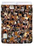 Wedding Collage Duvet Cover
