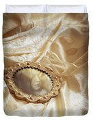 Wedding Dress And Mirror Duvet Cover