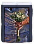 Wedding Flowers Duvet Cover