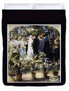 Wedding Party, 1897 Duvet Cover