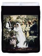 Wedding Party, 1900 Duvet Cover