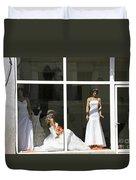 Wedding Shop In Tbilisi Duvet Cover