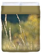 Weeds And Bokeh Duvet Cover