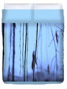 Weeping Forest Frost Duvet Cover