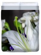 Weeping Lily Duvet Cover