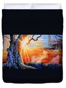 Weeping Willow Sighs Duvet Cover
