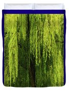 Weeping Willow Tree Enchantment  Duvet Cover