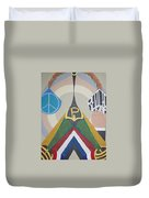 Weighing Peace Duvet Cover