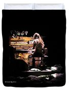 Weird Live Piano Duvet Cover by Stwayne Keubrick