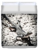 Weird Lizard Duvet Cover by Stwayne Keubrick