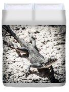 Weird Lizard Duvet Cover