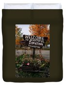 Welcome ... Duvet Cover