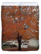 Welcome Fall Duvet Cover