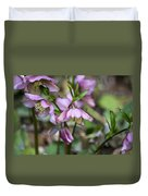Welcome Spring Flowers Duvet Cover