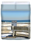 Welcome To Asbury Park Duvet Cover