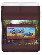 Welcome To Cars Land Duvet Cover