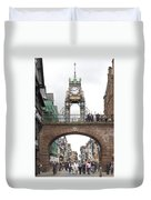 Welcome To Chester Duvet Cover