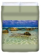 Welcome To Cozumel Duvet Cover