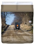 Welcome To Elkart County Duvet Cover
