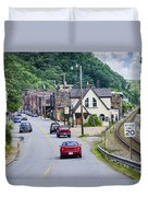 Welcome To Marshall Duvet Cover