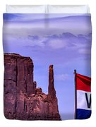 Welcome To Monument Valley Duvet Cover