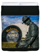 Welcome To Nome Duvet Cover